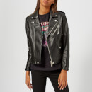 Coach 1941 Women's Moto Leather Jacket - Black