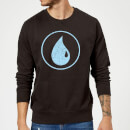 Magic The Gathering Mana Blue Sweatshirt - Black