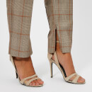 Zimmermann Women's Unbridled Paperbag Pants - Tan Check