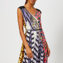 Marc Jacobs Women's Photographic Stripe Midi Dress - Purple/Multi