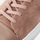 Axel Arigato Men's Cap Toe Suede Trainers - Dusty Pink