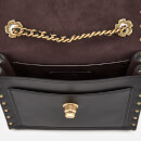 Coach Women's Border Rivets Parker 18 Shoulder Bag - Black