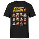 Street Fighter 2 Pixel Characters Mens T-Shirt - Schwarz
