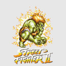 Street Fighter Blanka 16-bit Women's T-Shirt - Grey