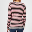 Bella Freud Women's Cashmere and Lurex Skinny Minnie Jumper - Black/Candy Pink