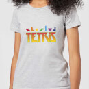 Tetris Multi Blocks Women's T-Shirt - Grey