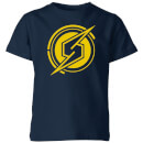 Nintendo Metroid Samus Coin Kid's T-Shirt - Navy