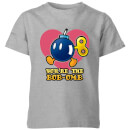 Nintendo Super Mario You're The Bob-Omb Kid's T-Shirt - Grey