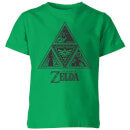 T-Shirt Enfant Triforce - The Legend Of Zelda Nintendo - Vert