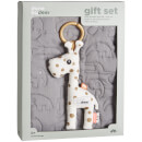 Done by Deer Quilt Gift Set - Grey