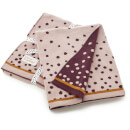 Done by Deer Happy Dots Knitted Blanket - Powder