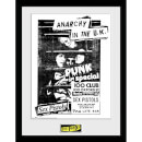 Sex Pistols 100 Club 12 x 16 Inches Framed Photograph