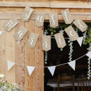"Ginger Ray ""Just Married"" Bunting - Hessian"