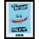 Rick and Morty Mr. Meeseeks 12 x 16 Inches Framed Photograph