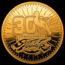 Street Fighter 30th Anniversary Collectors Coin: Gold Variant - Zavvi Exclusive (Limited to 1000)