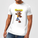 T-Shirt Homme Crash Pouce en l'Air Crash Bandicoot - Blanc