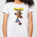 T-Shirt Femme Crash Pouce en l'Air Crash Bandicoot - Blanc