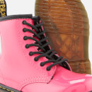Dr. Martens Kids' 1460 T Patent Lamper Lace Up Boots - Hot Pink