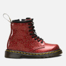 Dr. Martens Toddlers' 1460 I Glitter Lace Up Boots - Red Multi
