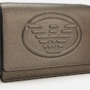 Emporio Armani Women's Frida Small Eagle Cross Body Bag - Gun Metal