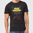 T-Shirt Homme Game Screen Space Invaders - Noir