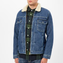 Edwin Men's Panhead Zipped Jacket - Mid Stone Wash