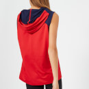 Puma Women's A.C.E Sleeveless Hoodie - Ribbon Red-Peacoat