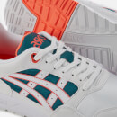 Asics Lifestyle Men's Gel-Saga Trainers - White/Flash Coral