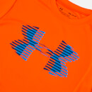 Under Armour Boys' Tech Big Logo Solid T-Shirt - Magma Orange