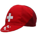 Santini Tour de Suisse 2018 Cross Cotton Cap - Red