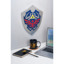 The Legend of Zelda Hylian Shield Metal Wall Art
