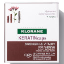 Klorane KERATINcaps Hair and Nails Dietary Supplements - 60 Capsules