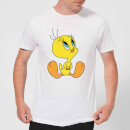 Looney Tunes Tweety Sitting Men's T-Shirt - White