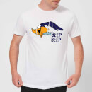 Looney Tunes Road Runner Beep Beep Men's T-Shirt - White