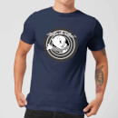 T-Shirt Homme That's All Folks ! Porky Pig Looney Tunes - Bleu Marine
