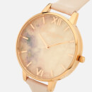 Olivia Burton Women's Semi Precious Watch - Blossom/Rose Gold