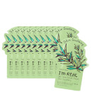 TONYMOLY I'm Real Sheet Mask Set of 10 - Tea Tree
