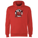 King Of The Grill Hoodie - Red