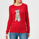 Joules Women's Miranda Red Terrier Intarsia Jumper - Red