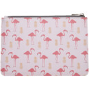 Fenella Smith Flamingo and Pineapple PU Clutch Bag