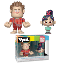 Disney Wreck It Ralph Ralph and Vanellope Vynl.