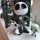 Nightmare Before Christmas Jack Skellington Super Deluxe Figure