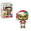 Figura Funko Pop! C-3PO Papá Noel - Star Wars Holiday