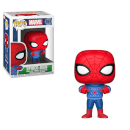 Figurine Pop! Spider-Man avec Pull Moche - Marvel Holiday 2018