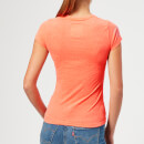 Superdry Women's Vintage Logo Duo Entry T-Shirt - Flamingo Coral