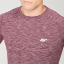 Performance Long Sleeve T-Shirt - Burgundy Marl - XS - Burgundy Marl