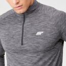 Performance Long-Sleeve ¼ Zip-Top - XS - Black Marl