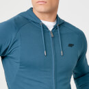 Form Zip Up Hoodie - Petrol Blue - M