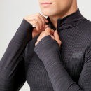 Sculpt Seamless 1/4 Zip Top - Slate - XS