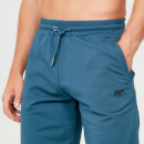 Form Sweat Shorts - Petrol Blue - XS